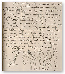 Franz Kafka's journal