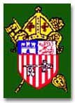 The arms of the Diocese of Cuba