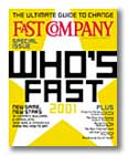 Cover of Fast Company magazine, November 2000