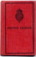 An old driving licence