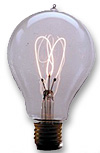 An 1893 light bulb