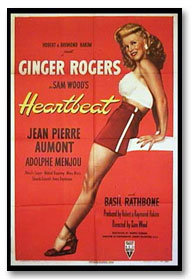 Ginger Rogers' beating heart