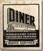 A simple American diner advert from the 1930s.
