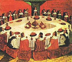 Boticelli's Knights of the Round Table