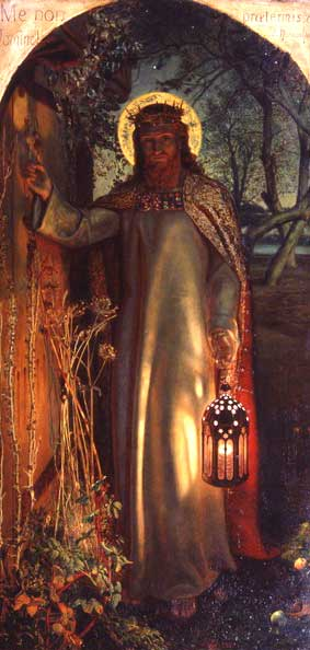 The Light of the World, by William Holman Hunt