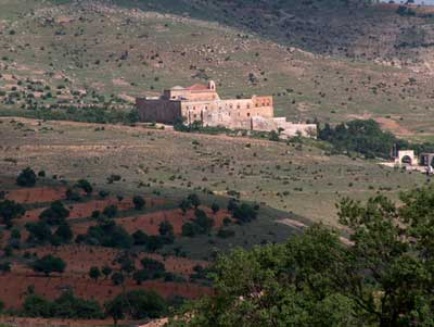 An ancient monastery in Tur Abdin