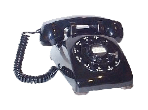 A Western Electric Model 500 telephone