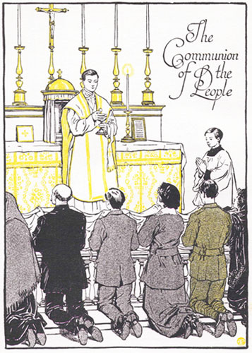 Communion without name-tags