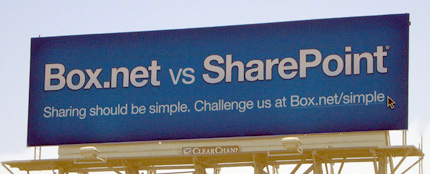 A Silicon Valley billboard