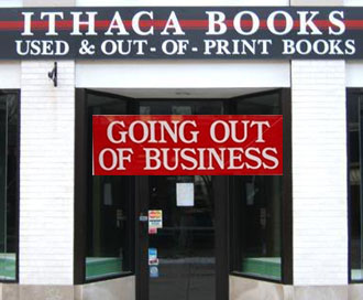 Ithaca Books Going out of Business