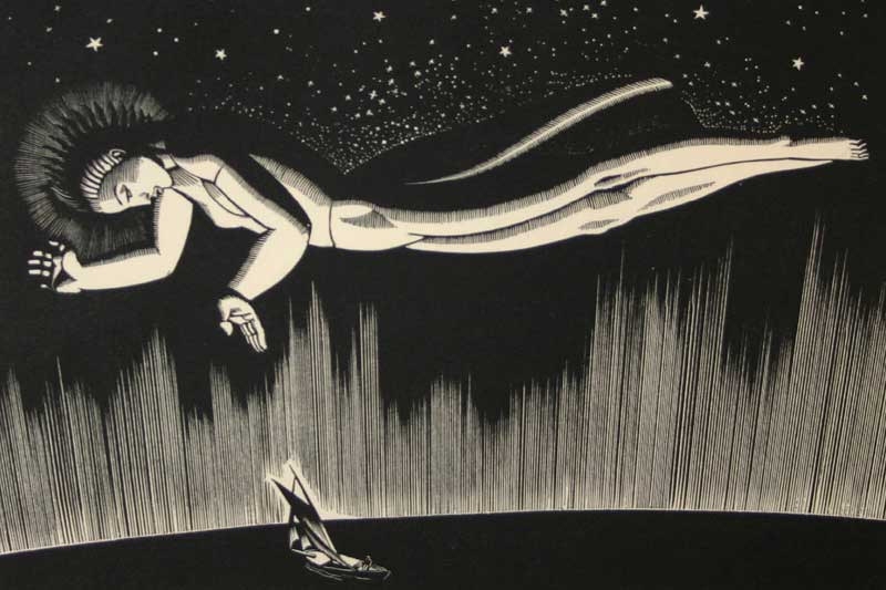 'Goodspeed', by Rockwell Kent