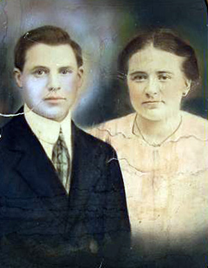 Daniel DeCesare and Adeline Pacifico, born 1885