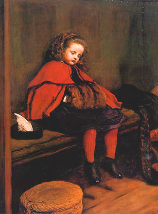 'My Second Sermon', John Everett Millais