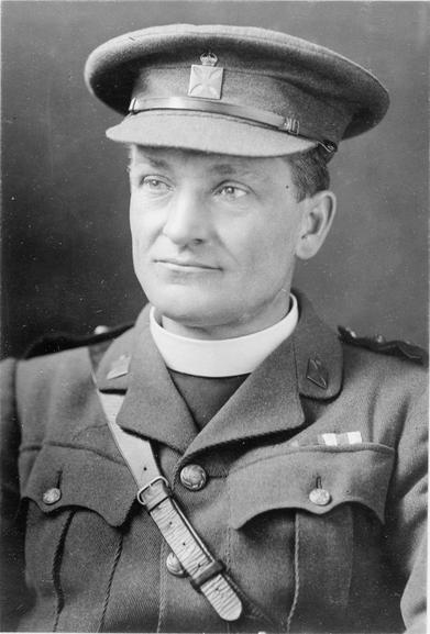 The Reverend TB Hardy, DSO, MC, VC