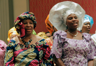 joyous choir. 