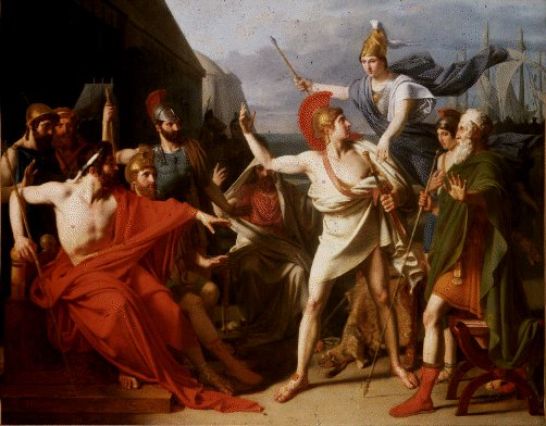 Wrath of Achilles, Drolling (1810)