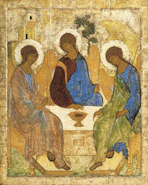 Rublev, Icon of the Trinity (15th century)