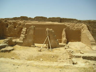 House Church in Dura-Europos (Heretiq, By Heretiq (Own work) [CC BY-SA 2.5 (http://creativecommons.org/licenses/by-sa/2.5)], via Wikimedia Commons)